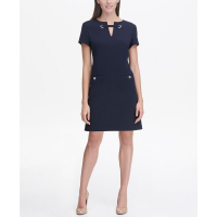 Tommy Hilfiger Women's 'Grommet Top Pocket' Dress