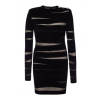 Balmain 'Sheer Details Fitted' Kleid für Damen