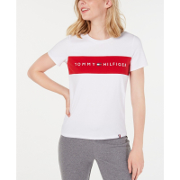 Tommy Hilfiger 'Colorblocked Logo' T-Shirt für Damen