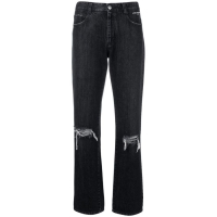 Stella McCartney 'Worn effect straight' Jeans für Damen