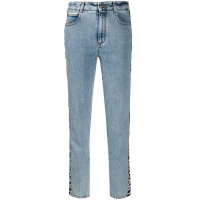 Stella McCartney 'Logo stripes slim' Jeans für Damen