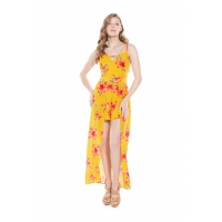 Guess Women's 'Salome Floral Maxi' Romper