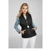 G by Guess Women's 'Keaton Belted Puffer' Vest