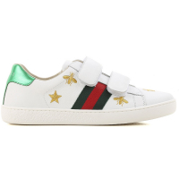 Gucci Kids Boy's 'Embroidered Details' Sneakers