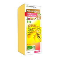 Arkopharma 'Arko Royal Junior Fortifying Organic Syrup' Nutritional supplement - 140 ml