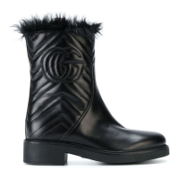 Gucci Women's 'Embossed logo' Boots