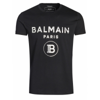 Balmain Men's 'Slightly Body Shaped' T-Shirt