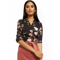 New York & Company 'Button Back  Soho Soft' Bluse für Damen