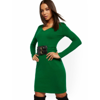 New York & Company Women's 'Belted' Dress