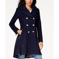 Guess Women's 'Double-Breasted Skirted' Coat