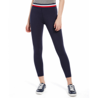Tommy Hilfiger Women's 'Striped-Waist' Capris