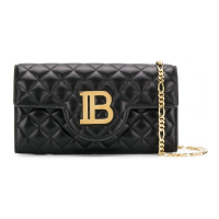 Balmain Women's 'Plate And Chain' Pouch