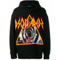 Dsquared2 Men's 'Hooded Printed' Sweater