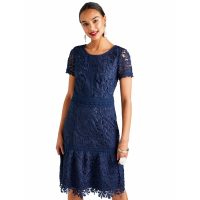 Yumi Women's 'Pretty Guipure Lace Dress' Dress