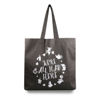 Disney Women's 'We'Re All Mad Here' Tote Bag