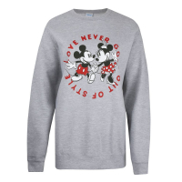 Disney Women's 'Love Never Goes Out Of Style' Sweater
