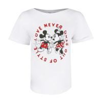 Disney Women's 'Love Never Goes Out Of Style' T-Shirt