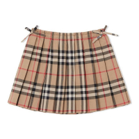 Burberry Baby Girl's 'Pleated Vintage' Skirt