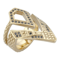 Just Cavalli Women's 'JC' Ring