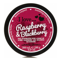 I Love 'Raspberry & Blackberry' Body Butter - 200 ml