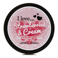 I Love 'Strawberries & Cream' Body Butter - 200 ml