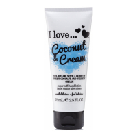 I Love 'Coconut Cream' Hand Cream - 75 ml