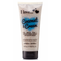 I Love 'Smoothie Coconut Cream' Exfoliating Shower Cream - 200 ml