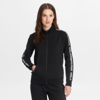 Karl Lagerfeld Women's 'Funnel Neck With Kl Taping' Jacket