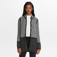 Karl Lagerfeld Women's 'Long Marble Tweed' Cardigan