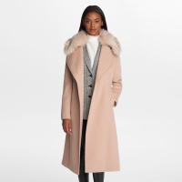 Karl Lagerfeld Women's 'Long Wrap' Coat