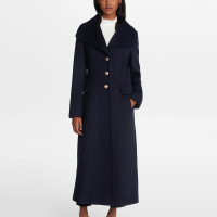 Karl Lagerfeld Women's 'Military Long' Coat