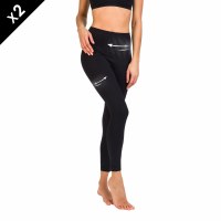 Movimiento Lot de 2 Leggings pour Femmes