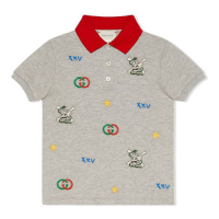 Gucci Boy's 'Embroided' Polo Shirt