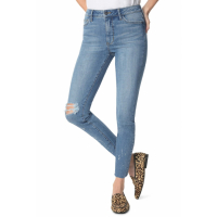 Sam Edelman Women's 'The Stiletto Ripped High Waist Ankle Skinny' Jeans