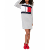 Tommy Hilfiger Women's 'Logo' Hoodie Dress