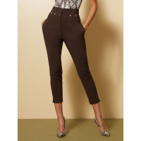 New York & Company Women's 'Paperbag High Waisted Ankle  All Season Stretch 7th Avenue' Trousers