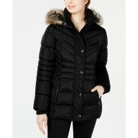 London Fog 'Hooded' Pufferjacke für Damen