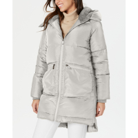 BCBGeneration Women's 'Hooded' Puffer Jacket