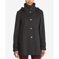 LAUREN Ralph Lauren Women's 'Hooded A-Line' Coat