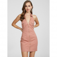 G by Guess Women's 'Channing Zip Front Halter' Dress