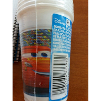 Disney 'Cars' Plastic cups - 200 ml, 10 Units
