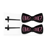 Double Dare 'OMG! Hair Up Bow' Haarnadel - #Black 1 Einheiten