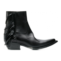 Saint Laurent Women's 'Lukas Fringed' Boots