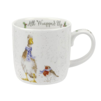 Wrendale Mug 'All Wrapped Up' - 0.31 L