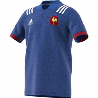 Adidas Children's 'France Rugby' T-Shirt
