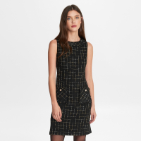 Karl Lagerfeld Women's 'Front Pockets' Sleeveless Dress