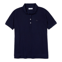 Lacoste Women's 'Relax Fit Flowing Stretch Cotton Piqué Soft' Polo Shirt