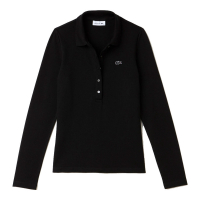 Lacoste Women's 'Slim Fit' Long-sleeve Polo Shirt