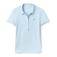 Lacoste 'Stretch Mini Piqué' Polohemd für Damen
