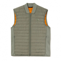 Lacoste Men's 'Combinable Collapsible Lightweight Quilted Zip' Vest